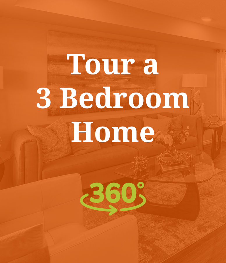 Tour a 3 Bedroom Home